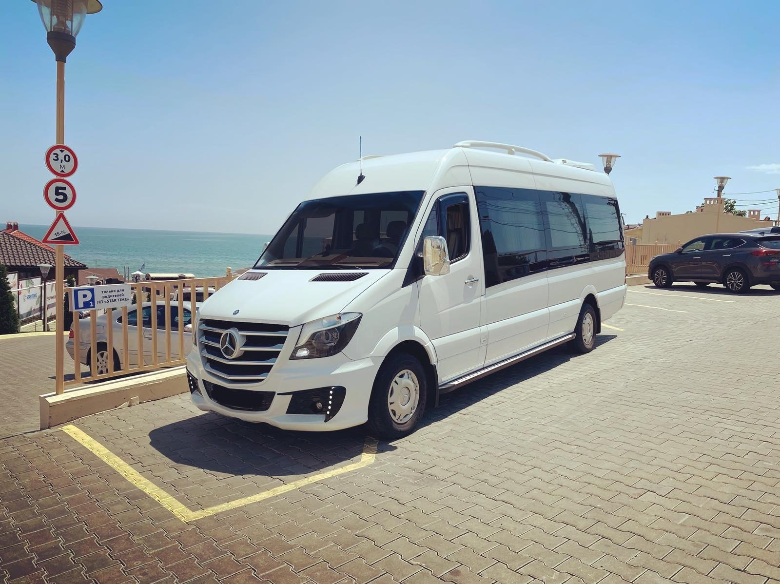 Mercedes Sprinter White VIP